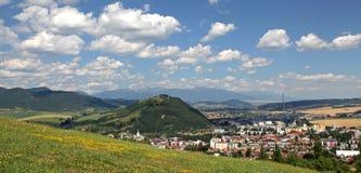 Small town Ruzomberok, Slovakia Royalty Free Stock Photos