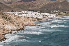 Small town of sailors. Las Negras, a small village of Cabo de Gata sailors Royalty Free Stock Image