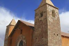 Small town, San Cristobal, Eduardo Alveroa, Uyuni Bolivia, Royalty Free Stock Photo