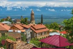 Small town Signagi, Kakheti region, Georgia Royalty Free Stock Image