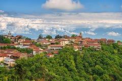 Small town Signagi, Kakheti region, Georgia Royalty Free Stock Photo