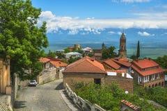 Small town Signagi, Kakheti region, Georgia Royalty Free Stock Images