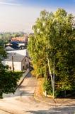 Radzionków. A small town at silesia voivodship stock photos