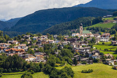 Small town in South Tyrol Royalty Free Stock Photos