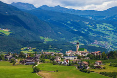 Small town in South Tyrol Royalty Free Stock Images
