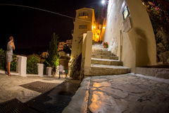 Small town sperlonga at the Mediterranean Sea in Italy Stock Images