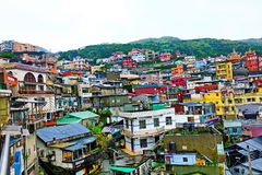 Small town in Taipei Taiwan Stock Images