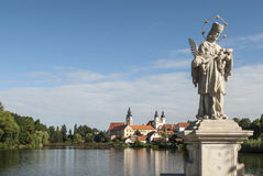 The small town of telc czech republic europe Stock Image