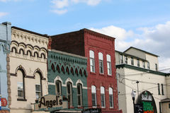 Small town, 19th Century architecture. These images were captured in the small town of Penn Yan, NY, USA. Penn Yan is located at the northern end of Keuka Lake royalty free stock images
