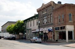 Free Small Town U.S.A. Royalty Free Stock Photography - 769927