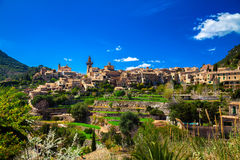 The small town Valldemossa Royalty Free Stock Photo