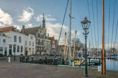 In a small town. Veere, Netherlands Royalty Free Stock Photography