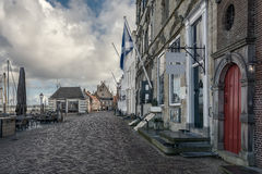 In a small town. Veere, Netherlands Royalty Free Stock Images