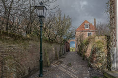 In a small town. Veere, Netherlands Stock Photos