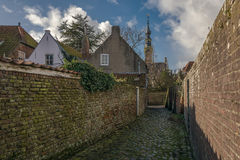 In a small town. Veere, Netherlands Stock Photography