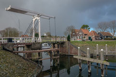 In a small town. Veere, Netherlands Stock Images
