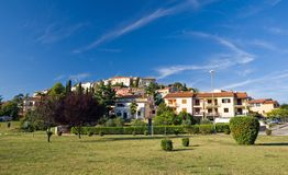 Small town Vrsar. Istria, Croatia Stock Images