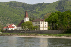 A small town in the Wachau valley Stock Photo