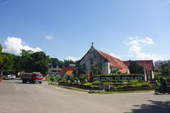 Small Town Welcomes You To Siquijor Royalty Free Stock Photo