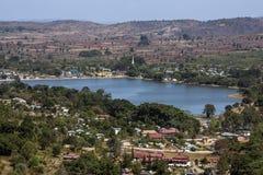 Burmese Countryside - Shan State - Myanmar Royalty Free Stock Image