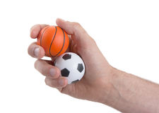Small toy balls Stock Photography