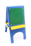 Small Toy Black Board on Easel Royalty Free Stock Photography