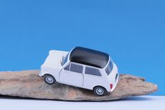 Small toy car royalty free stock images