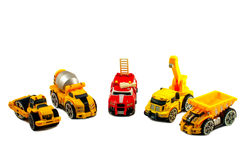 Small toy cars Stock Photography