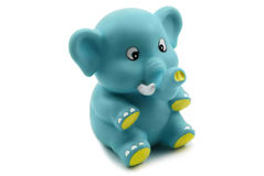 Small toy elephant Royalty Free Stock Photography