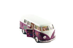 Small toy minibus Stock Image