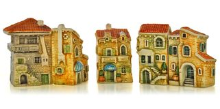 Small toy town Stock Photography