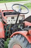 Small Tractor Closeup Royalty Free Stock Images