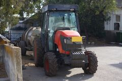 Small tractor Royalty Free Stock Images