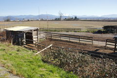 Small Traditional Corral Royalty Free Stock Photo