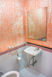 Small traditional rest room in Asia Royalty Free Stock Photo