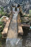 Traditional Waterfall in garden Stock Photography