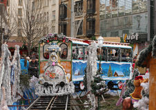 Free Small Train - Fun For Children At Christmas Market Stock Photography - 63086752