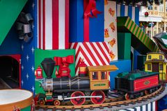 Free Small Train On Store At Magic Kingdom 113. Royalty Free Stock Photo - 166528595