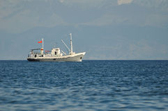 Small trawler Stock Photo