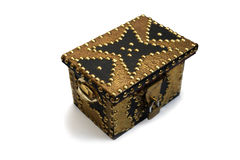 Small treasure chest. Oriental style. Royalty Free Stock Photos