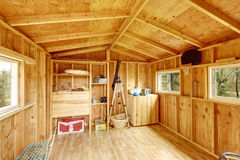 Small tree house interior Royalty Free Stock Photography