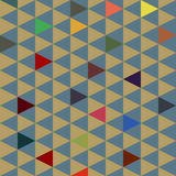 Small triangles Royalty Free Stock Images