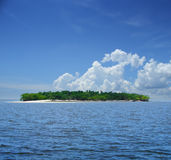Small tropical island Stock Images