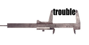 Small trouble Stock Image