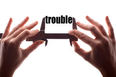 Small trouble Royalty Free Stock Photos