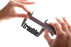 Small trouble Stock Photo