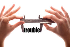 Small trouble Royalty Free Stock Photography