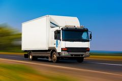 Small truck Stock Photography