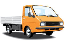 Small truck Stock Photo