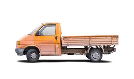 Small truck. Isolated on white background Stock Photography